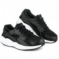 Кроссовки женские черные Rapter B790-1, копия Nike Huarache