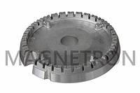 Горелка - рассекатель (большая) для газовых плит Indesit C00257566