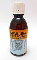 Муравьиная кислота 50 мл используют для профилактики и лечения варроатоза пчел,Укрветбиофарм