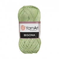 Пряжа 100% хлопок YarnArt Begonia 50г /169м, цвет 6369
