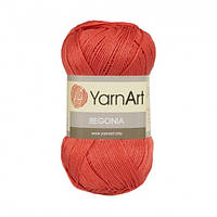 Пряжа 100% хлопок YarnArt Begonia 50г /169м, цвет 4910