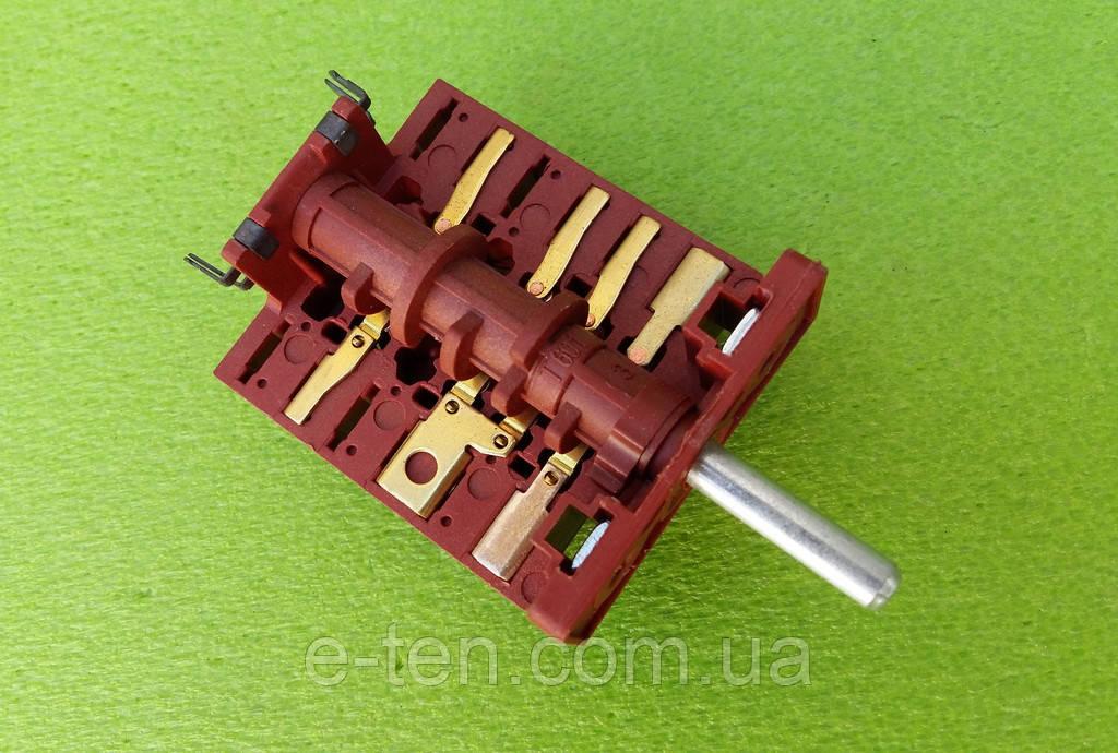 Переключатель трехпозиционный AC610A (AC6) / 16А / 250V / Т150 (контакты снаружи 5+5)  JRGESON, Турция