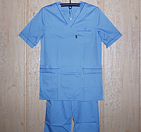 Медицинский мужской костюм  х/б  р.р. 42-64