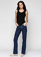 Джинсовые штаны Agata темно-синего цвета