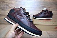 Зимние мужские ботинки+кроссовки New Balance 754 коричневые