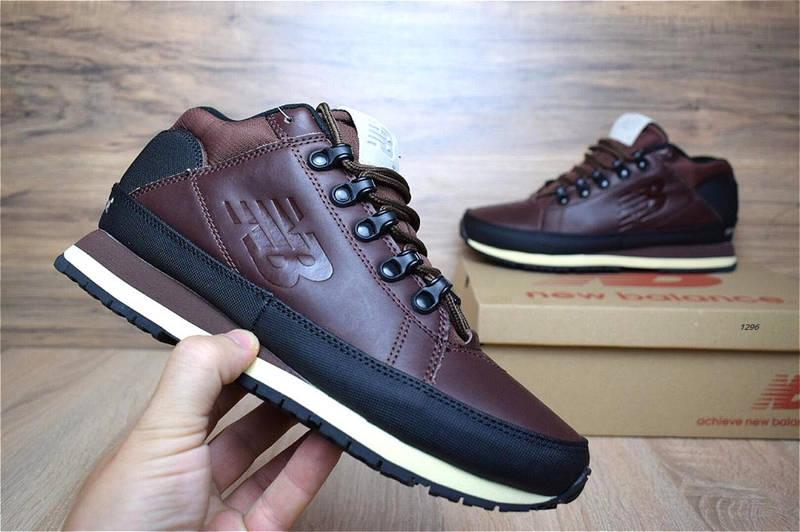 Зимние мужские ботинки+кроссовки New Balance 754 коричневые , фото 1