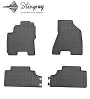Kia Sportage II JE 2005-2010 Комплект из 4-х ковриков Черный в салон. Доставка по всей Украине. Оплата при получении