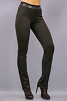 Никки. Женские брюки утепленные супер батал. Черный. 58