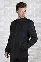 Куртка с воротником стойкой