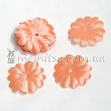 Заготовка для цветов ромашки, персиковый