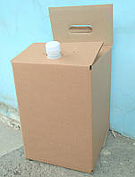 Коробка с пакетом 20 литров без печати
