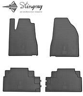 Lexus RX  2003- Комплект из 4-х ковриков Черный в салон. Доставка по всей Украине. Оплата при получении