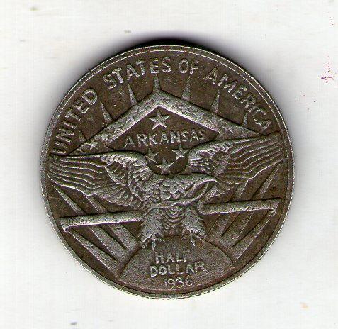 США пів долара 1936 рік