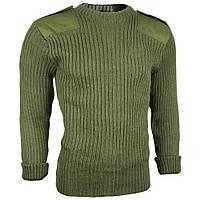 Шерстяной свитер ВС Британии (british commando sweater wool, Olive)