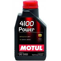 Motul 4100 Power 15w-50 - масло моторное - 1 литр