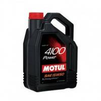 Motul 4100 Power 15w-50 - масло моторное полусинтетика - 4 литра