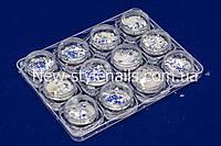 Набор декора для дизайна ногтей MIX, 12 шт в пластиковом контейнере, фото 1