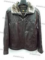 """Мужская зимняя куртка (искусственный мех) """"Ducai""""- купить оптом со склада на 7км LB-1172"""