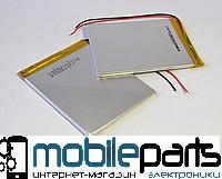 Оригинальный Универсальный Внутренний Аккумулятор АКБ 307290P 90*72*3, 2 pin (Li-ion 3.7V 3000mAh)