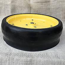 """Колесо опорне в зборі 4,5"""" x 16""""JohnDeere, Kinze,  диск  металевий  з підш.885152"""