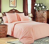 Ткань для постельного белья, поплин (хлопок) Персиковый
