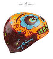 Силиконовая шапочка для плавания Mad Wave Mexico, фото 1