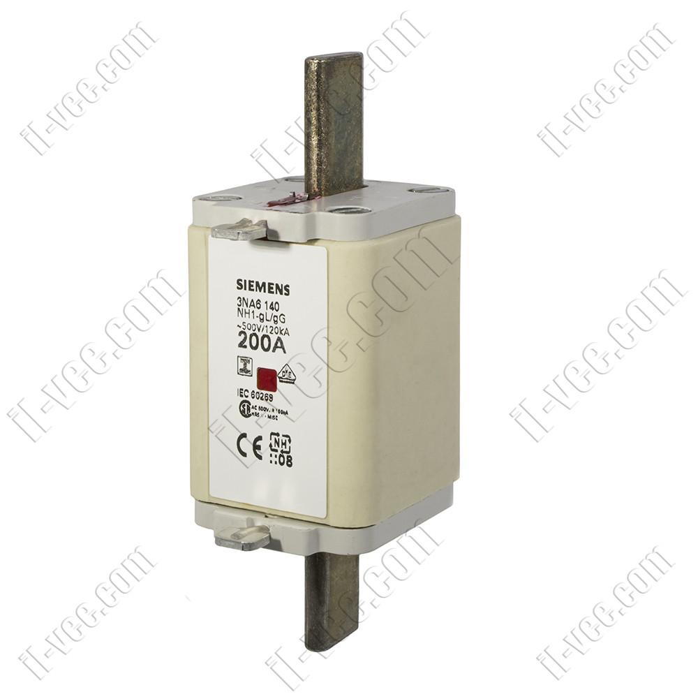 Предохранитель Siemens 3NA6140 NH1 gG 200A/500V