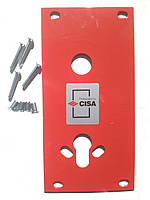 Защитная пластина для цилиндрового замка Cisa Protect (Италия)