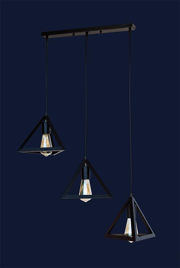Светильник подвесной LOFT L56PR220F-3 BK(500)
