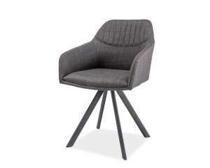 Кухонный стул MILTON I I  (серый) ( Signal )