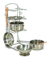 Игровой набор посуды из нержавеющей стали ТМ Melissa&Doug