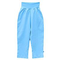 Штанишки для мальчика девочки ребенка штаны голубые арт. 599