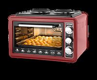 Настольная плита с духовкой электрическая EFBA 1005 Красная