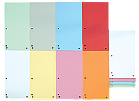 Индекс-разделитель 105х230 мм, 100шт., картон, ассорти 8620100-99