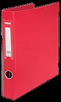 Папка на 4-х кольцах, А4, ширина торца 35мм, красный bm.3106-05
