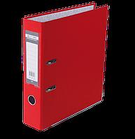 Регистратор односторонний А4 jobmax, ширина торца 70мм, красный bm.3011-05c