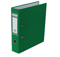 Регистратор односторонний А4 jobmax, ширина торца 70мм, зеленый bm.3011-04c