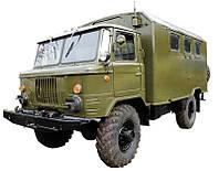 Скло переднє (лобове) GAZ 66(ГАЗ 66)