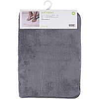 Коврик для ванной 65*45 см (серый) Smart Microfiber|Оригинальная продукция из швеции