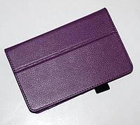 Чехол-книжка для Dell Venue 7 (фиолетовый цвет)