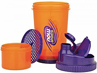 Шейкер для протеина Now Foods Shaker 3in1
