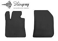 Peugeot 308 T9 2013- Комплект из 2-х ковриков Черный в салон. Доставка по всей Украине. Оплата при получении