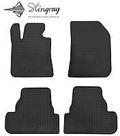 Peugeot 308 T9 2013- Задний левый коврик Черный в салон. Доставка по всей Украине. Оплата при получении