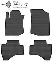 Citroen C1  2005- Комплект из 4-х ковриков Черный в салон. Доставка по всей Украине. Оплата при получении
