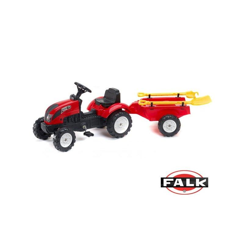 Детский трактор на педалях Falk 2058G GARDEN MASTER