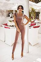 Комбинезон женский брючный в расцветках 20384, фото 1