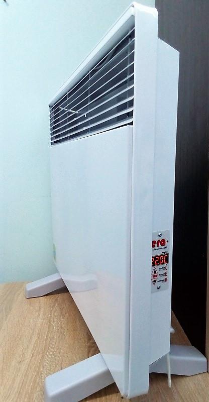 Умный био- конвектор электрический ЭКО-ОБОГРЕВ ЭК 1000 (2 термодатчика) с цифровым управлением.