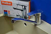 Смеситель для кухни Haiba Onix - Chr.- 555 с креплением на гайке