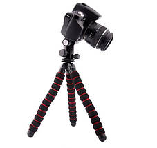 Гибкий штатив на 27 см., для телефона,фотоаппарата, экшен камеры, фото 2