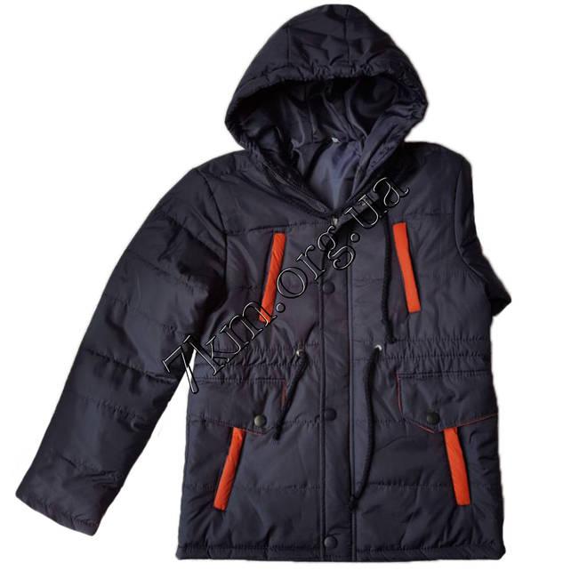 79931a179d7 Куртка детская для мальчиков 7-12 лет +оранжевый оптом AT1 230817 ...